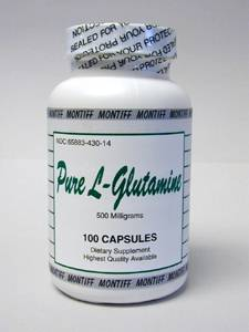 Pure L-Glutamine 500 mg 100 caps