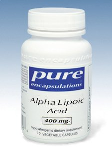 Alpha Lipoic Acid 400 mg 60 vcaps