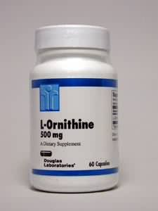 L-Ornithine 500 mg 60 caps
