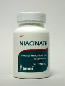 Niacinate 594 mg 90 tabs