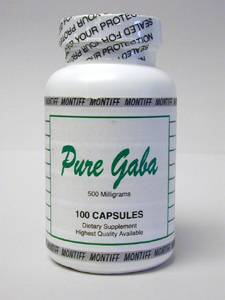 Pure Gaba 500 mg 100 caps