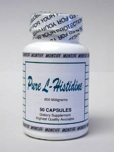 Pure L-Histidine 600 mg 50 caps
