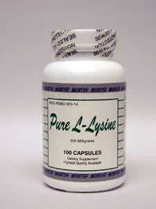 Pure L-Lysine 500 mg 100 caps